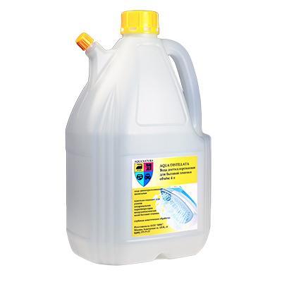 Вода дистиллированная AQUA DISTILLATA - 4 литра AD4L