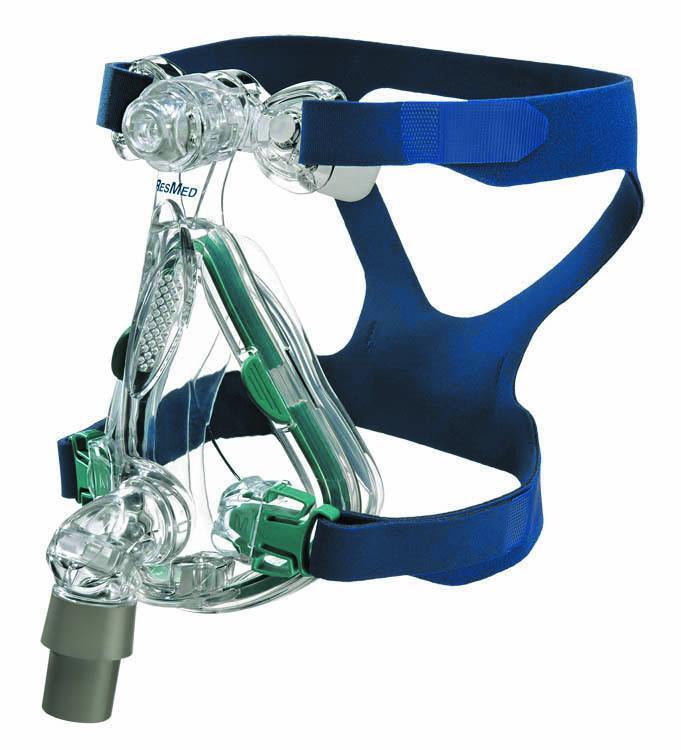 ResMed Mirage Quattro™ ротоносовая маска для сипап терапии (Средний размер (M)) 61202
